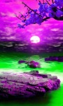 Purple Nature Live Wallpaper screenshot 3/3