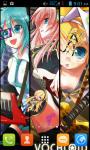 Vocaloid Live Wallpaper Free screenshot 1/6