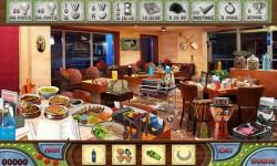 Free Hidden Object Games - Family Restaurant screenshot 3/4