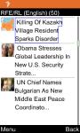 RFE/RL English for Java Phones screenshot 1/6