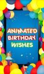 Animated Birthday Emoji screenshot 1/3