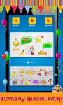 Animated Birthday Emoji screenshot 2/3