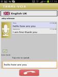 Trans-Vox Speech to Speech Translator screenshot 3/3