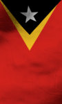 East timor flag lwp Free screenshot 5/5
