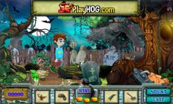 Free Hidden Object Games - The Graveyard screenshot 3/4