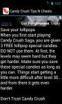 Candy Crush Cheats N Tips screenshot 4/4