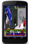Top Players in MLB History screenshot 1/3