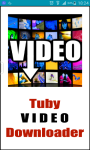 Tuby VIDEO Downloader screenshot 4/4
