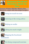 Common Workout Mistakes Made by Men screenshot 2/3