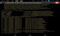 Shell Terminal Emulator Android screenshot 5/6