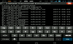 Shell Terminal Emulator Android screenshot 6/6