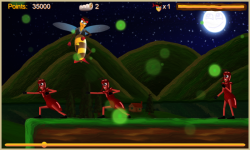 Justin the Bee - Super Runner screenshot 2/5