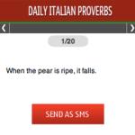 Daily Italian Proverbs S40 screenshot 1/1