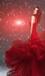 Red Beauty Live Wallpaper screenshot 2/3
