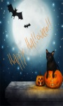 Bat Cat Halloween LWP screenshot 1/3