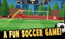 Stickman Freekick Soccer Hero screenshot 1/2