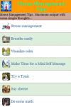 Stress Management Tips screenshot 2/3