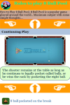 Rules to play Eight Ball Pool screenshot 4/4