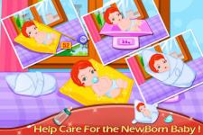 Cute New Baby Born screenshot 4/5