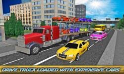 Car Transporter Big Truck 2016 screenshot 2/3