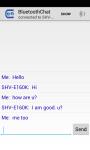 Blu-etooth messenger screenshot 3/3