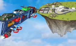 Flying Car Transport Truck 3D screenshot 2/3