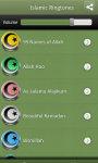 Islamic Ringtones app screenshot 2/3