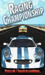Racing Championship screenshot 1/3