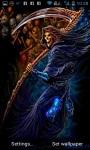 Skull Collector Grim Reaper Live Wallpaper screenshot 3/3