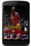 Greatest NBA Players of All Time screenshot 1/3