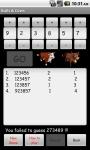 Bulls or Cows screenshot 3/3