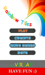 Rainbow Tiles - Dont step on the white tile screenshot 1/6