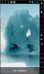 Beautiful Glacier Live Wallpaper screenshot 1/2