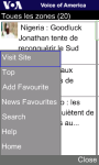 VOA French for Java Phones screenshot 4/6