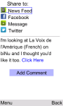 VOA French for Java Phones screenshot 5/6
