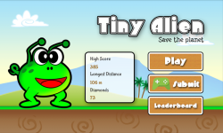 Tiny Alien - Save The Planets screenshot 1/6