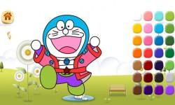 Doraemon coloring screenshot 3/5