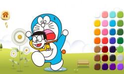 Doraemon coloring screenshot 4/5