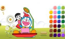 Doraemon coloring screenshot 5/5