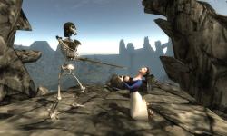 Skeleton Knight Simulation 3D screenshot 2/6