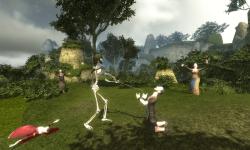 Skeleton Knight Simulation 3D screenshot 6/6