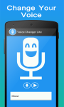 Voice Changer Lite screenshot 2/4