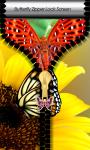 Butterfly Zipper Lock Screen Best screenshot 1/6