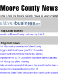 Moore County News for Android screenshot 1/1