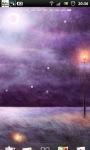 Purple Night Field Live Wallpaper screenshot 1/6