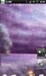 Purple Night Field Live Wallpaper screenshot 2/6