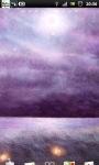 Purple Night Field Live Wallpaper screenshot 4/6