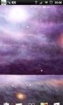 Purple Night Field Live Wallpaper screenshot 5/6