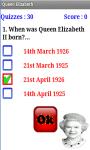 Quiz on Queen Elizabeth screenshot 3/4