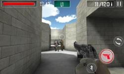 FPS : Commando gun shooting screenshot 3/6